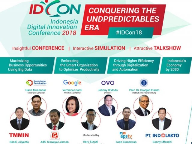 IDCon18, Indonesia Digital Innovation Conference 2018