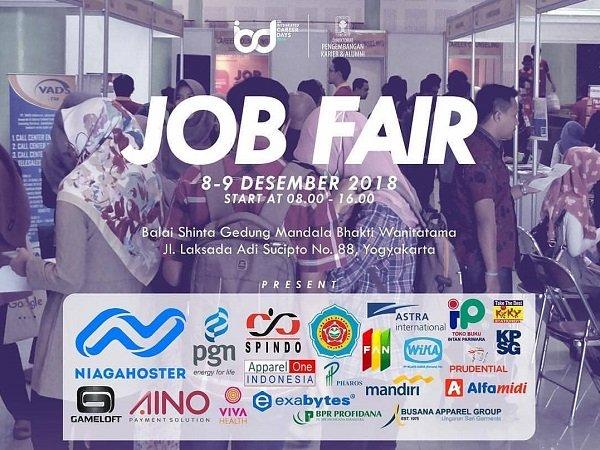 Job Fair UII Integrated Career Days