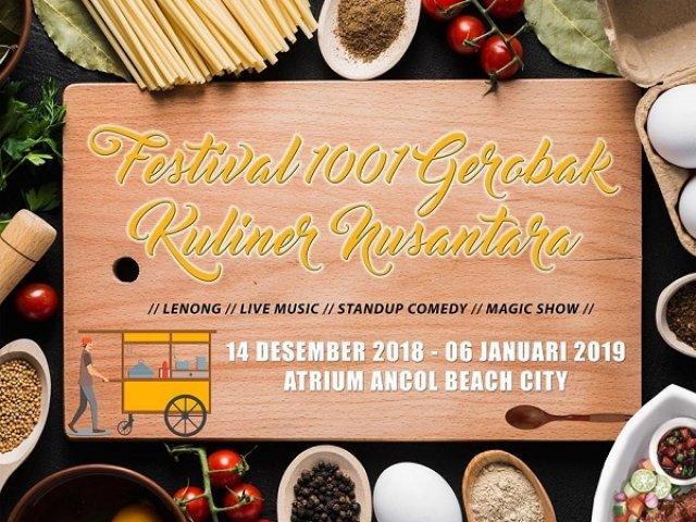 Festival 1001 Gerobak Kuliner Nusantara