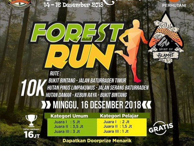 Spirit of Slamet Forest Run