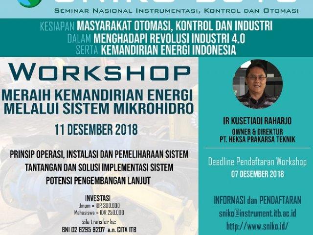 Workshop Mikrohidro