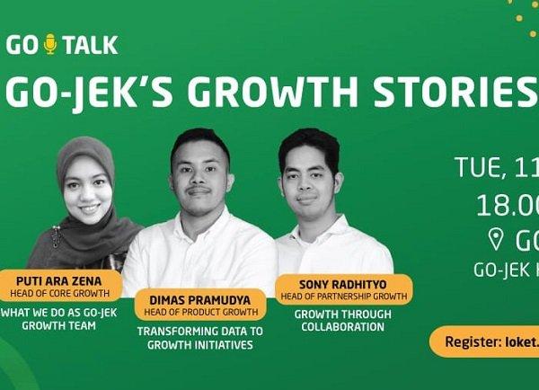 GO TALK: GO JEK's Growth Stories