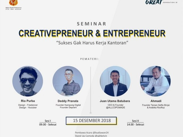 Creativepreneur dan Entrepreneur