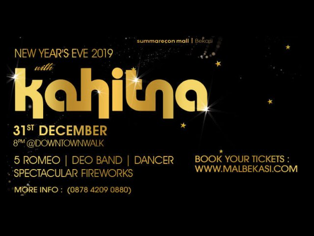 New Year`s Eve 2019 with Kahitna