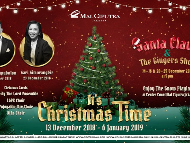 Mall Ciputra It's Christmas Time
