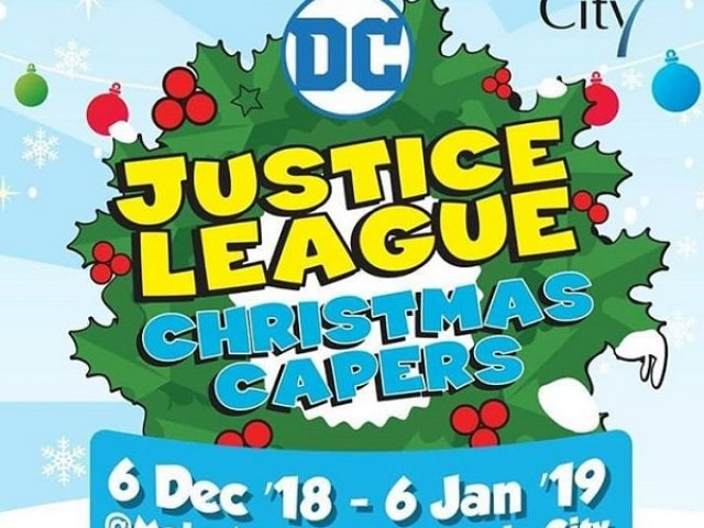 DC Justice League Christmas Capers