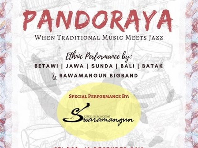 PANDORAYA When Traditional Music Meets Jazz
