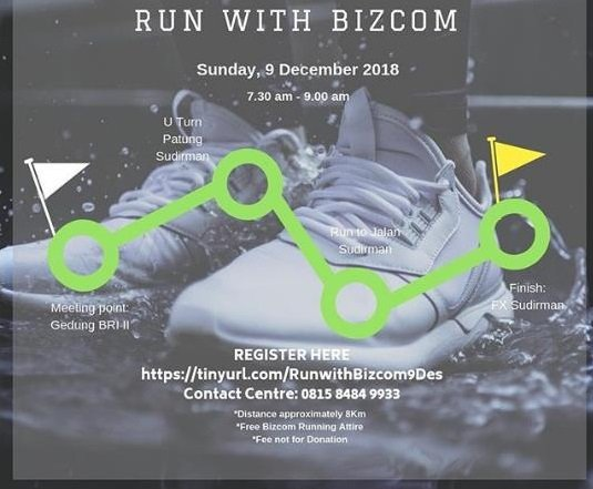 Run With Bizcom Indonesia