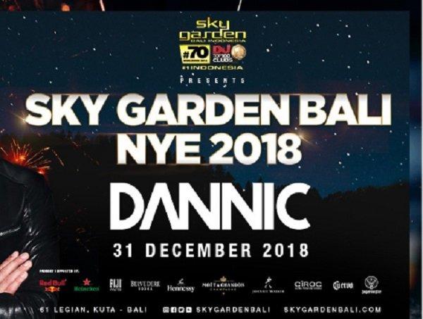Sky Garden Bali NYE feat. Dannic