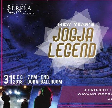 NEW YEAR EVE 2019 GRAND SERELA YOGYAKARTA JOGJA LEGEND