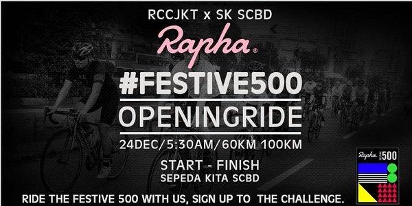 RCCJKT x SEPEDAKITA Rapha Festive 500