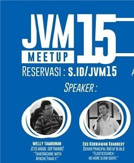 JVM Meetup 15 - JVM Talks About Data
