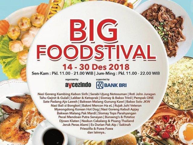 BIG Foodstival 2018
