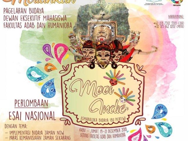 "Mooi Indie ""Asnaraloka Budaya Ibu Pertiwi"""