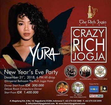 New Year's Eve Party with Yura Yunita