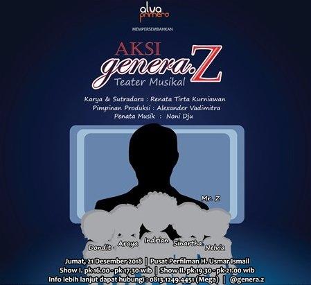 Aksi Genera Z : Teater Musikal