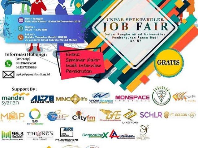 UNPAB Spektakuler Job Fair