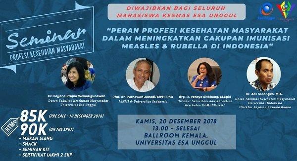 Seminar Profesi Kesehatan Masyarakat