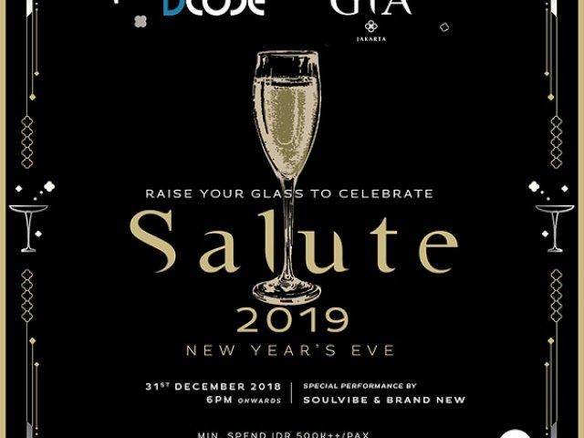 Salute 2019 New Years Eve