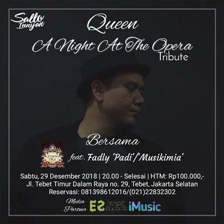 A Night at The Opera Tribute to Queen
