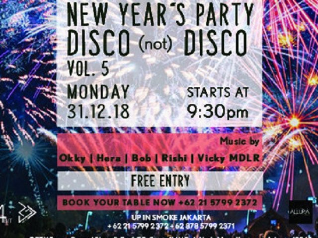 NEW YEARS PARTY DISCO (not) DISCO VOL 5