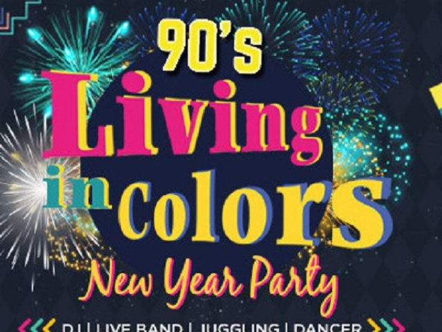 New Years Eve Party : Living in Color