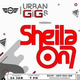 Sheila On 7 At Holywings (Surabaya)