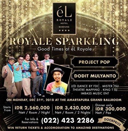 "Royale Sparkling ""Good Times at eL Royale"""