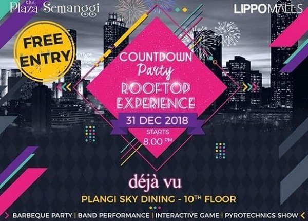 Count Down Party Rooftop Experience
