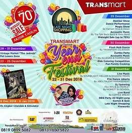 Year and Festival at Transmart Cilandak