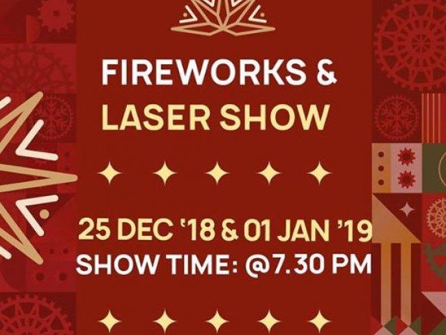 Firework & Laser Show