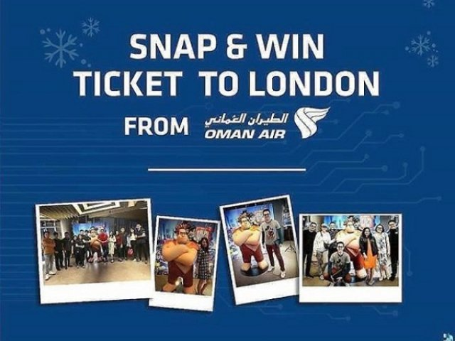 Snap & Win Ticket To London