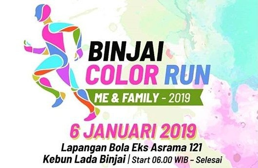 Binjai Color Run 2019