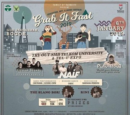 Grab It Fast 2019, Bring the Past for a Better Future