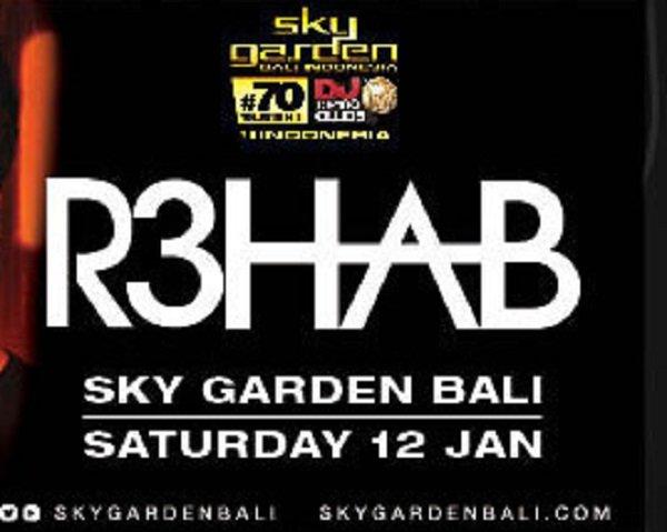 R3hab at Sky Garden Bali