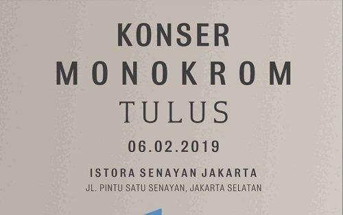 TULUS MONOKROM JAKARTA