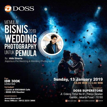 """Memulai Bisnis 2019 """"Wedding Photography Untuk Pemula"""""""