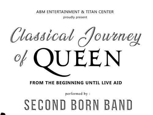 Second Born Tribute To Queen
