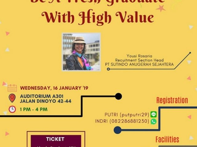 Be a Fresh Graduate With High Value