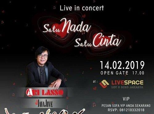 Live In Concert Satu Nada Satu Cinta