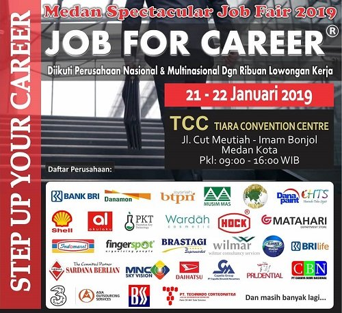 Medan Spectacular Job Fair 2019