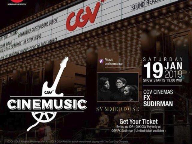 Cinemusic di CGV fX Sudirman