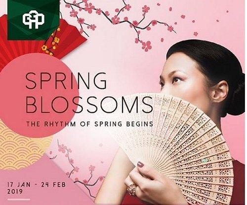 Spring Blossoms Grand Galaxy Park