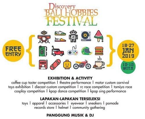 Discovery Bali Hobbies Festival