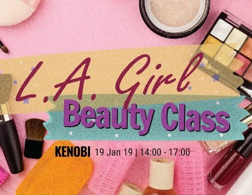 Beauty Make up Class by L.A Girl