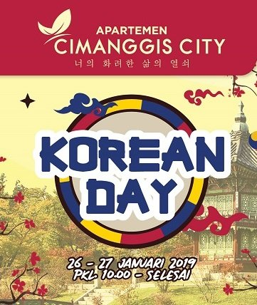Cimanggis City Korean Day