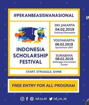 Indonesia Scholarship Festival 2019