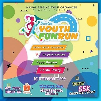 Banten Youth Fun Run 2019