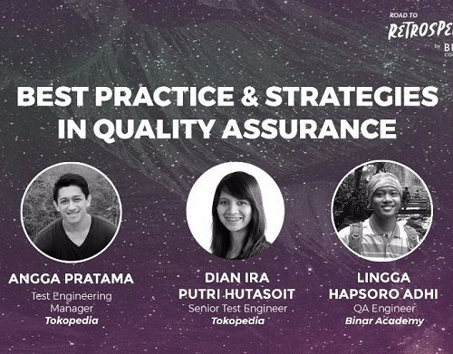 Best Practice & Strategies in Quality Assurance