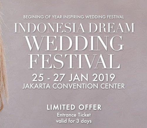 Indonesia Dream Wedding Festival 2019